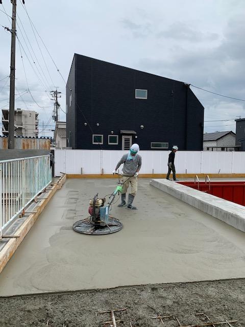 緑ヶ丘中プール改修工事施工後写真