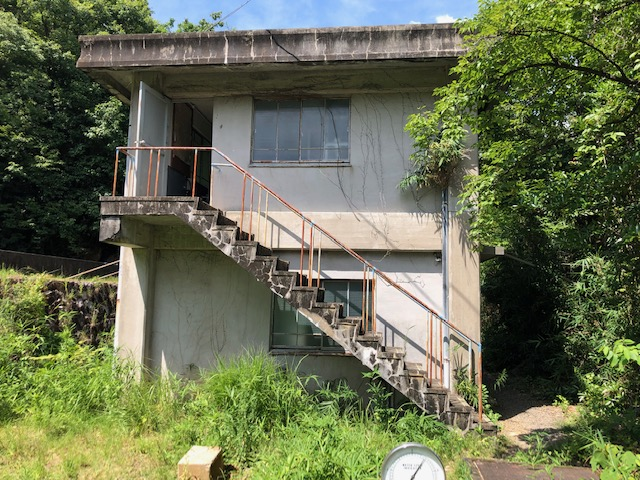 明治村浄水場不陸調整工事施工前写真